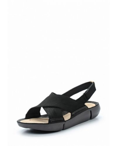 Черные сандалии Clarks