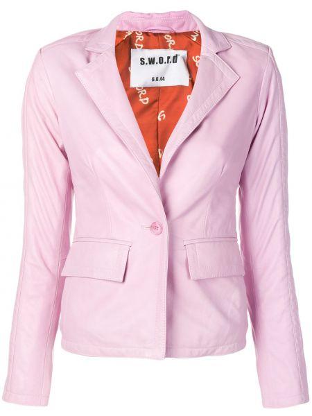 Розовый пиджак S.w.o.r.d 6.6.44