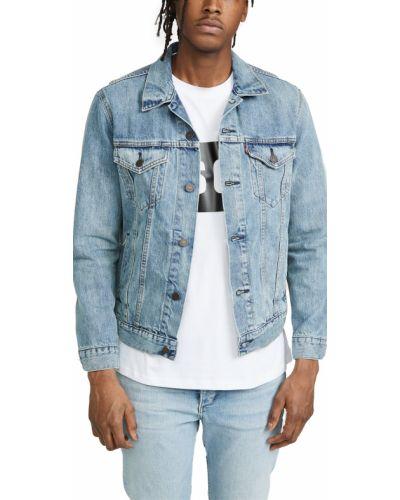 Ватная синяя джинсовая куртка с карманами Levi's®
