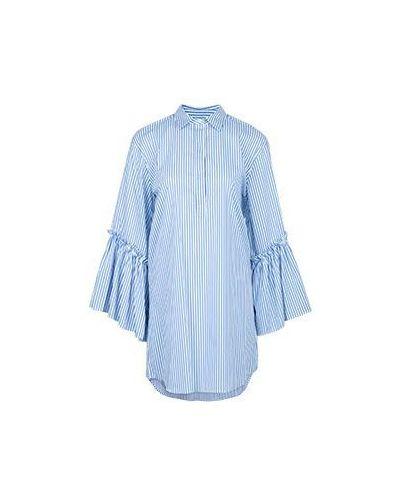Голубое платье хлопковое P.a.r.o.s.h.