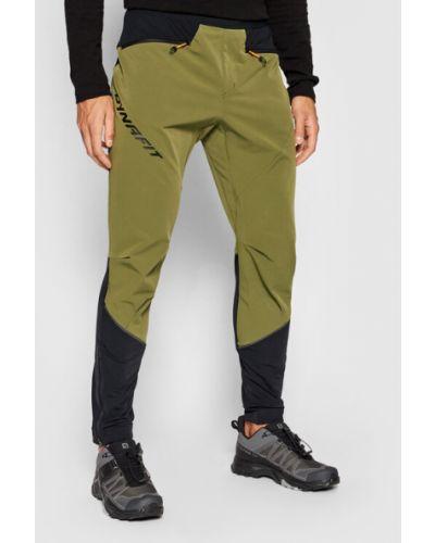 Zielone spodnie Dynafit