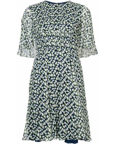 Платье с прозрачными рукавами Jason Wu