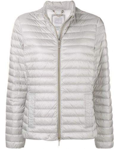 Куртка белая серая Geox