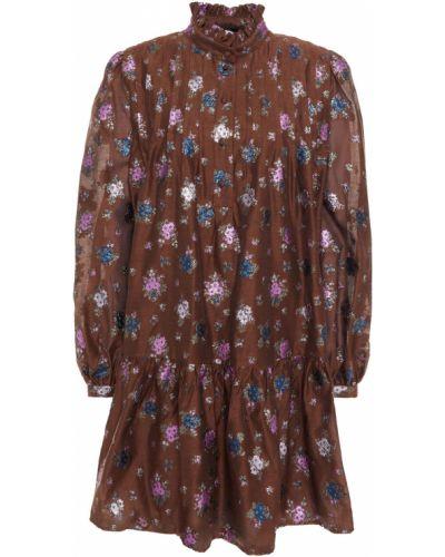 Платье мини - коричневое Paul & Joe