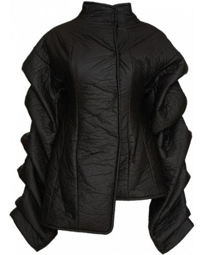 С рукавами черная куртка A.w.a.k.e.