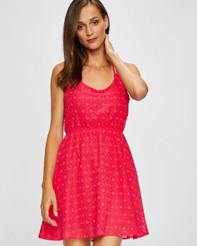 Платье мини однотонное расклешенное Fresh Made