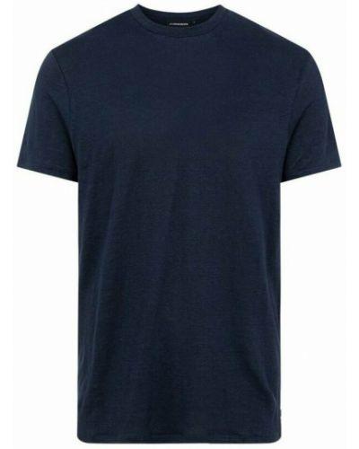 T-shirt - niebieska J.lindeberg