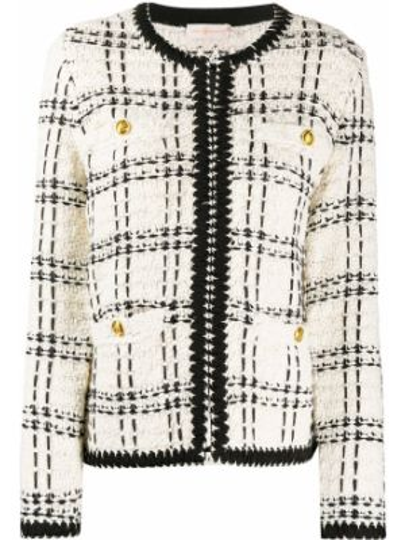 Куртка твидовый куртка-жакет Tory Burch