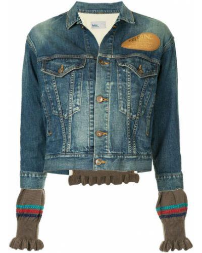 Синяя джинсовая куртка Kolor