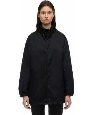 Пиджак с вышивкой без воротника Balenciaga