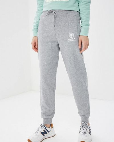 Серые спортивные брюки Franklin & Marshall