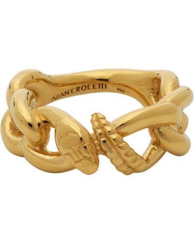 Złoty pierścionek Alan Crocetti