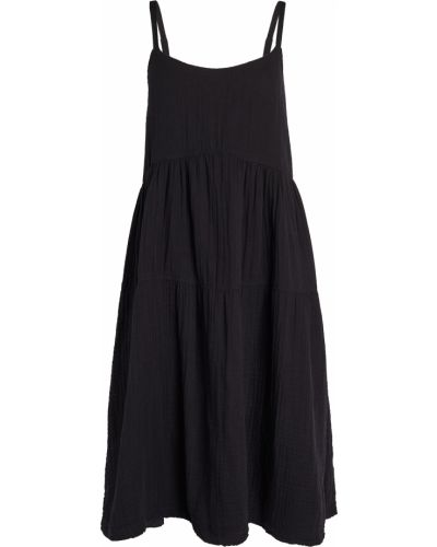 Хлопковое черное платье с подкладкой Wilt