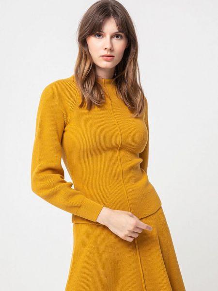 Свитер осенний желтый Bgn