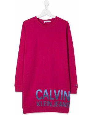 Платье макси Calvin Klein Jeans