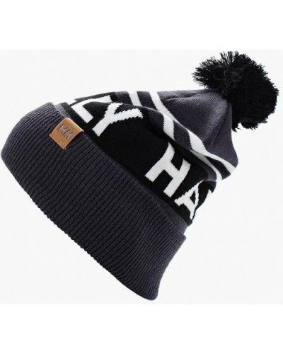Серая шапка осенняя Helly Hansen