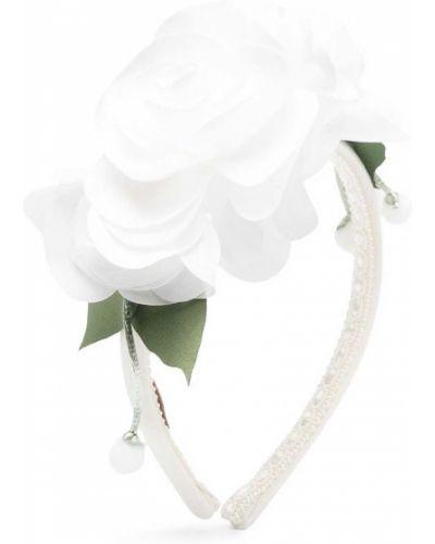 Белый пояс Monnalisa