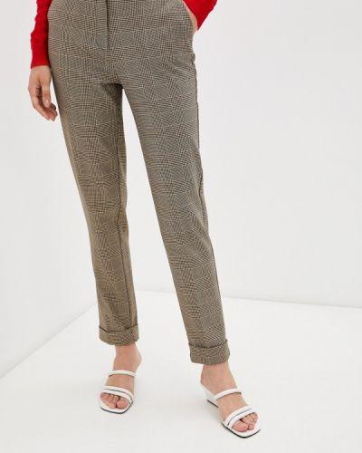 Повседневные коричневые брюки Naf Naf