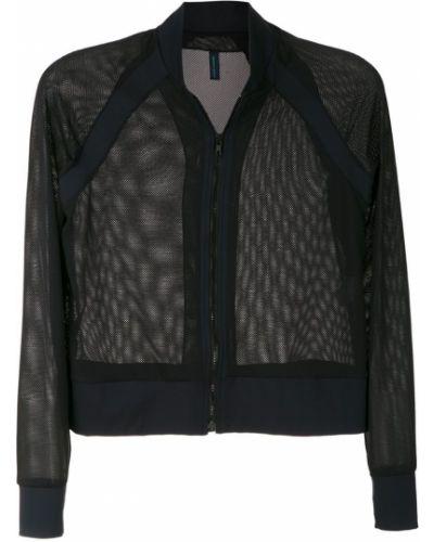 Черная длинная куртка с манжетами Lygia & Nanny