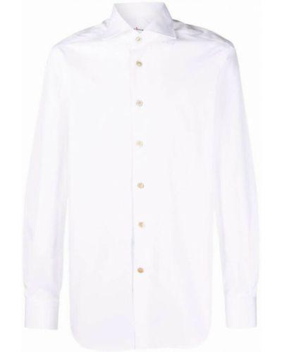 Biała koszula Kiton
