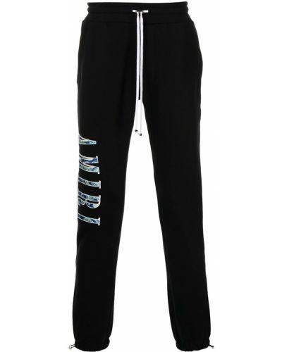 Черные спортивные спортивные брюки Amiri