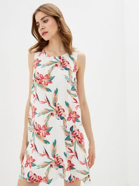 Белое платье Roxy