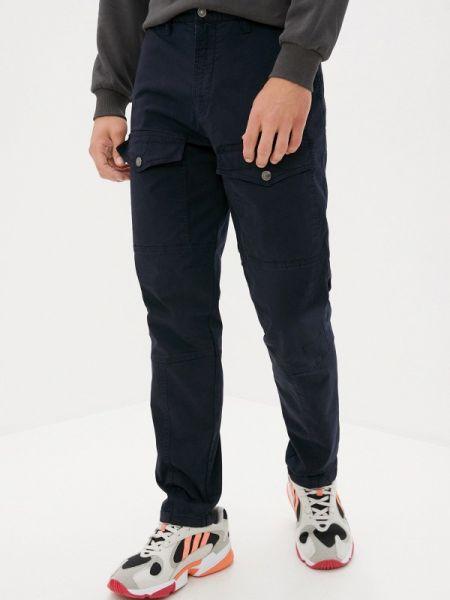 Синие брюки карго Angelo Bonetti