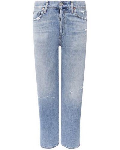 Хлопковые синие джинсы Citizens Of Humanity