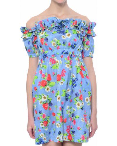 Платье весеннее хлопковое Love Moschino