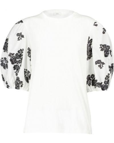Ватная хлопковая белая рубашка Erdem