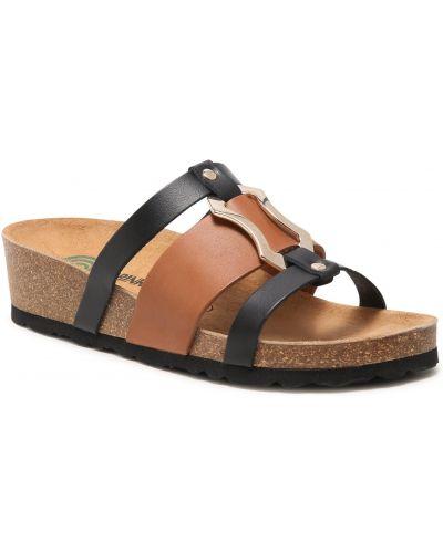 Czarne sandały casual Dr. Brinkmann