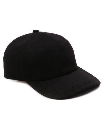 Черная итальянская бейсболка Svevo