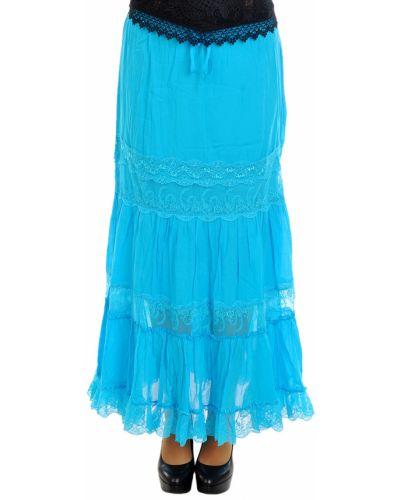 Хлопковая юбка - голубая Charo Ruiz