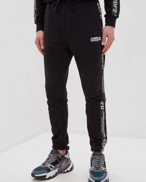 Пуховые черные спортивные брюки Comme Des Fuckdown