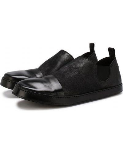 Черные слипоны Marsell