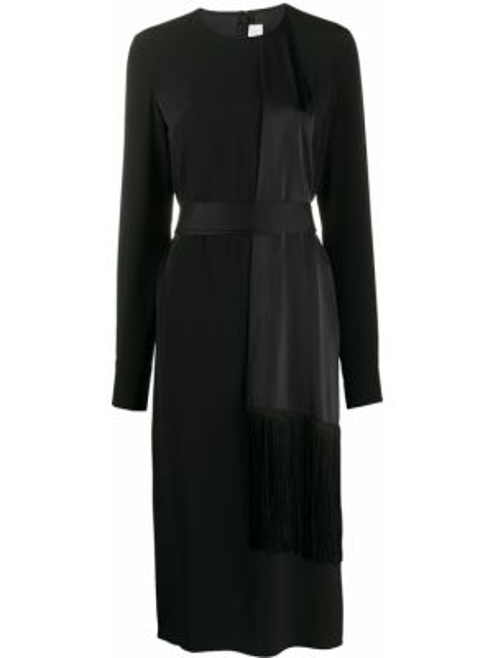 Платье миди со вставками на молнии Victoria, Victoria Beckham