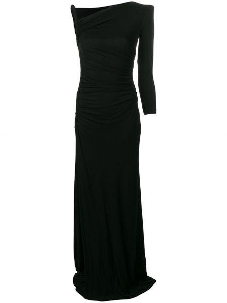 Вечернее платье на молнии черное Dsquared2