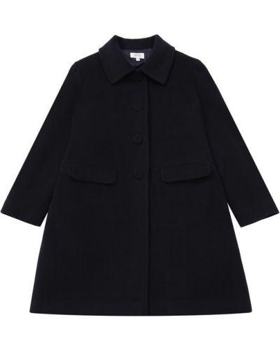 Пальто прямое однобортное Aletta