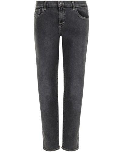 Укороченные джинсы с эффектом потертости на высокий рост J Brand