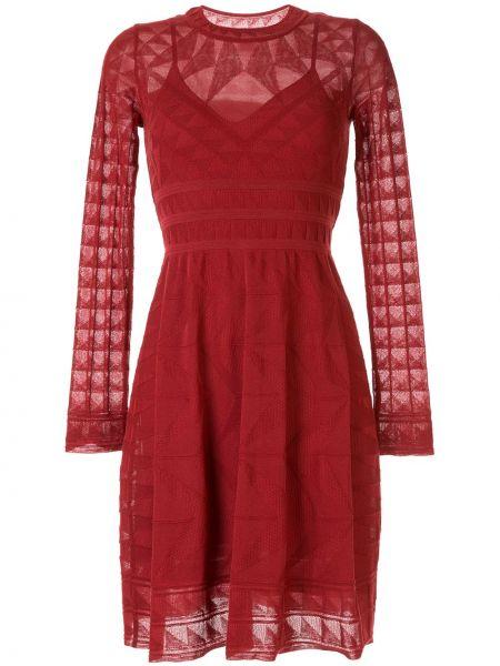 Платье макси вязаное поясной M Missoni