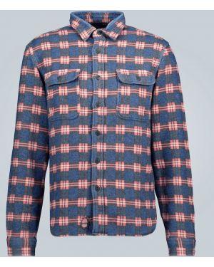 Рубашка с заплатками Rrl