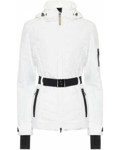 Пуховая белая куртка Bogner