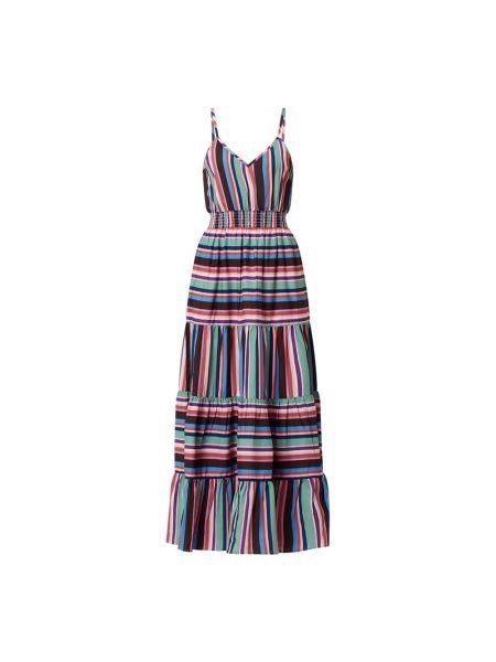 Fioletowa sukienka z długimi rękawami Shiwi