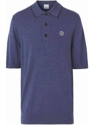 Koszula wełniana - niebieska Burberry