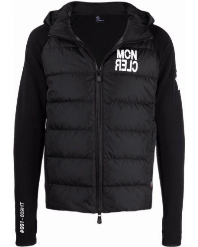 Czarna kurtka ze stójką Moncler Grenoble