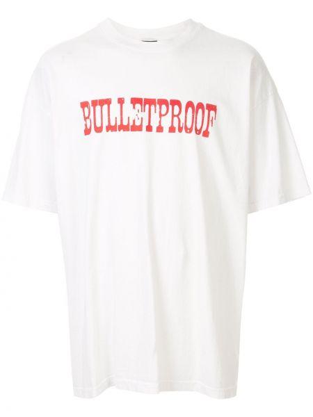 Koszula krótkie z krótkim rękawem prosto z nadrukiem Keiser Clark