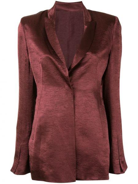 Пиджак длинный - красный Ann Demeulemeester