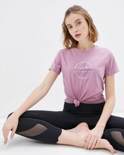 Розовая спортивная футболка Anta