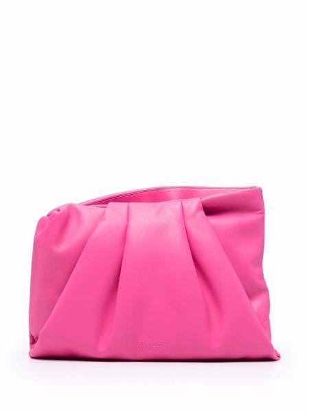 Różowa torebka srebrna Ambush