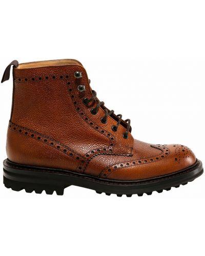 Brązowe ankle boots Churchs